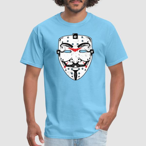 Anonymous mask Friday 13th - Anonymous T-shirt