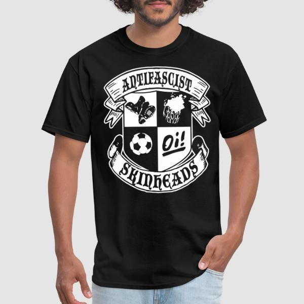 Antifascist oi! skinheads - Anti-fascist T-shirt