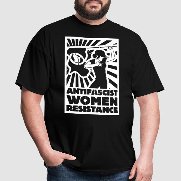 Antifascist women resistance - Feminist T-shirt