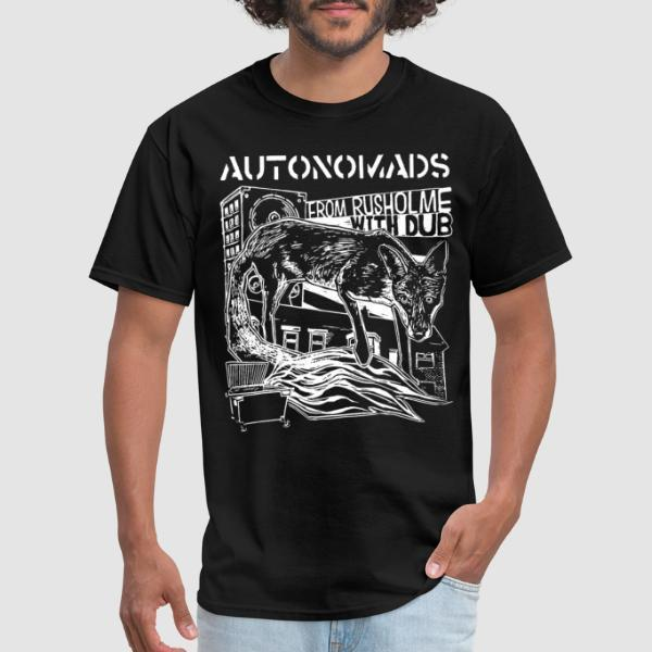 Autonomads - from rusholme with dub - Band Merch T-shirt