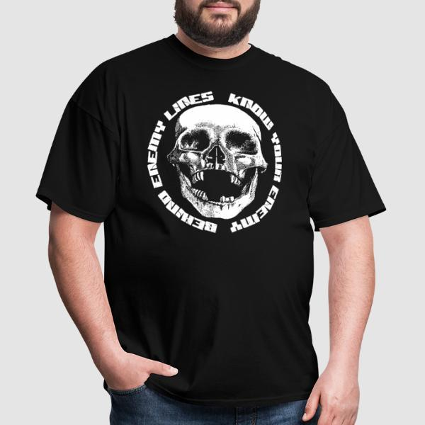 Behind Enemy Lines - Know your enemy - Band Merch T-shirt