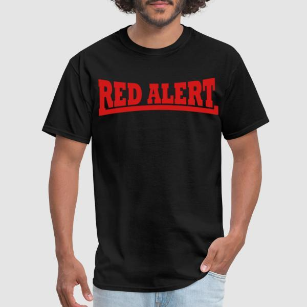 Red Alert - Band Merch T-shirt
