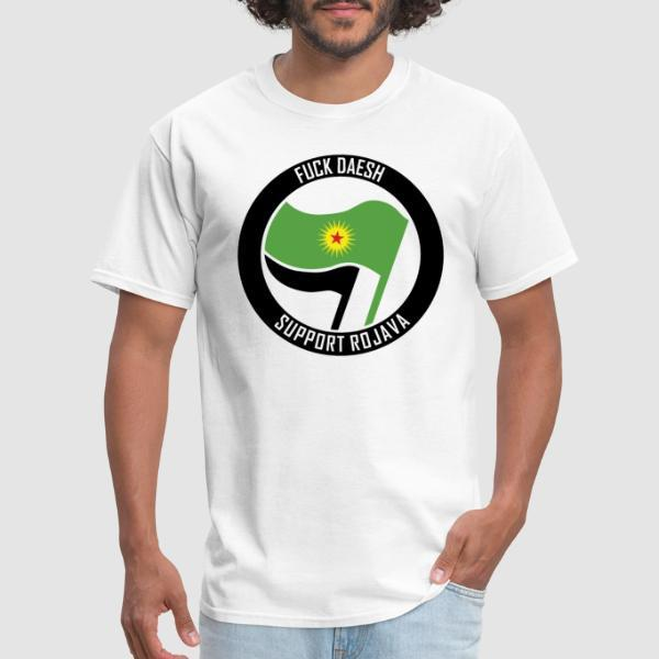 Fuck Daesh. Support Rojava - Rojava T-shirt