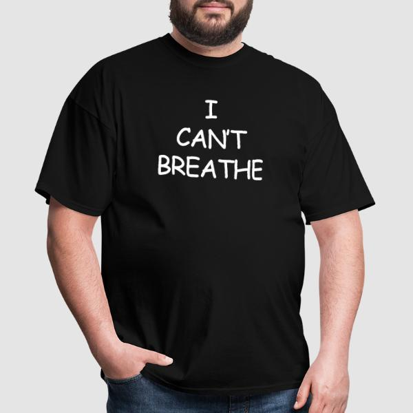 I Can't Breathe - ACAB T-shirt