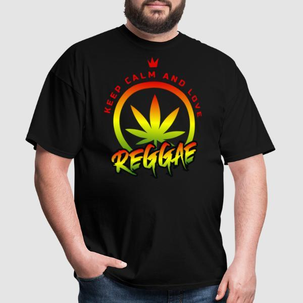 Keep calm and love reggae - Ska T-shirt