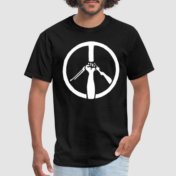 Peace Anti-Violence - Anti-war T-shirt