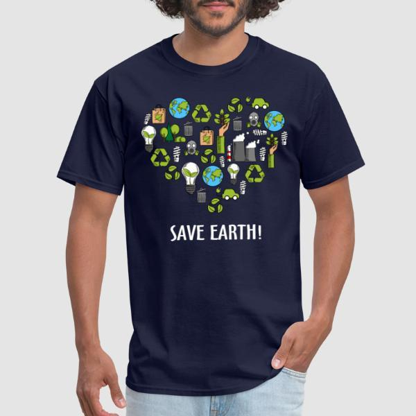 Save earth! - Eco-friendly T-shirt