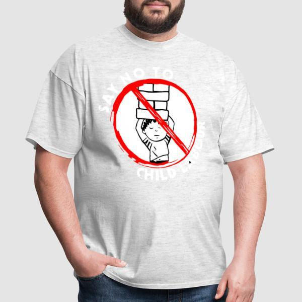 Say no to child labour - Working Class T-shirt
