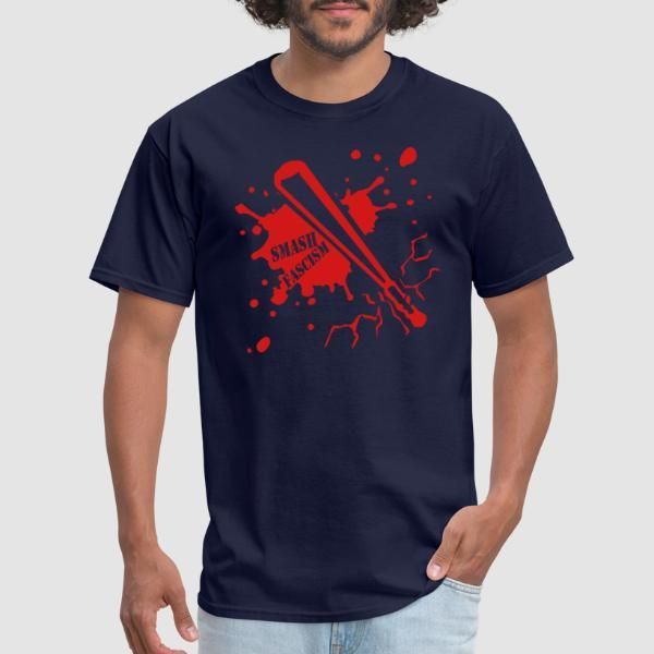 Smash fascism - Anti-fascist T-shirt