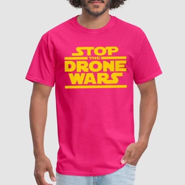 Stop the drone wars - Anti-war T-shirt