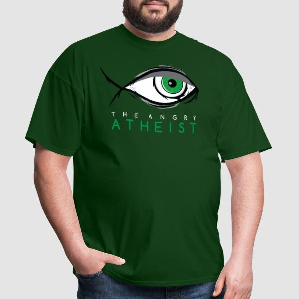 The angry atheist - Atheist T-shirt
