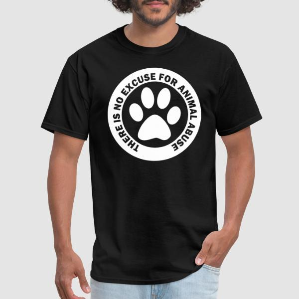 There is no excuse for animal abuse - Animal Liberation T-shirt