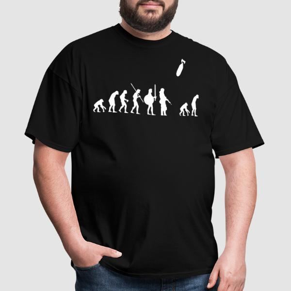 War evolution - Anti-war T-shirt