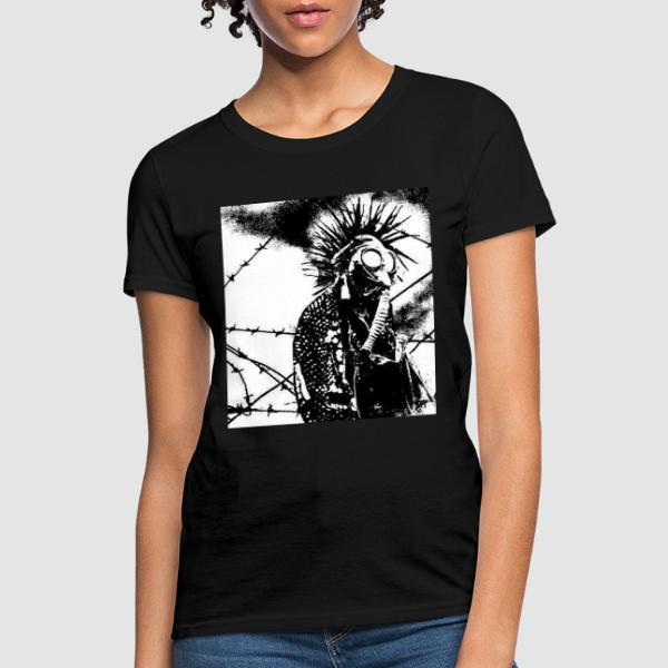 Gasmask Punk - Punk Women T-shirt