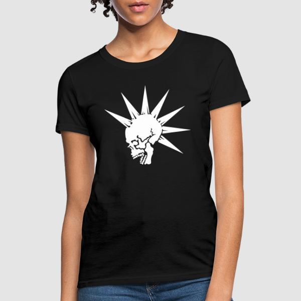 Punk Women T-shirt - Punk Women T-shirt
