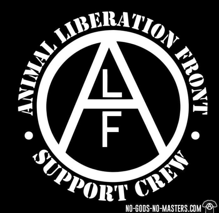 ALF Animal Liberation Front support crew  - Animal Liberation T-shirt