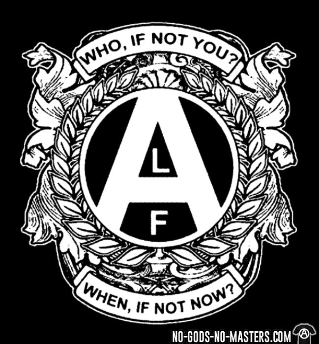ALF - who, if not you? when, if not now? - Animal Liberation T-shirt