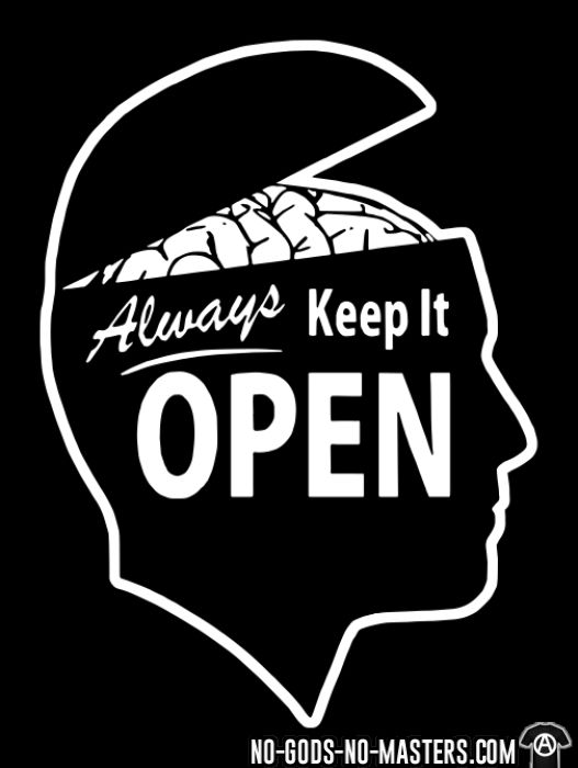 Always keep it open - Funny Long sleeves