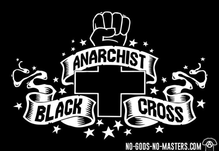 Anarchist black cross - Activist Zip hoodie