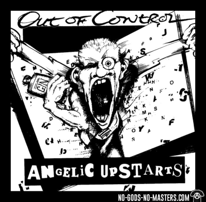 Angelic Upstarts - Out of control - Band Merch T-shirt