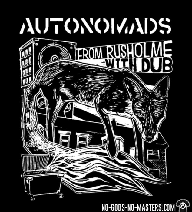 Autonomads - from rusholme with dub - Band Merch Long sleeves