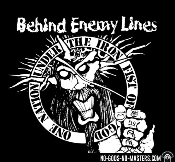 Behind Enemy Lines - One nation under the iron fist of god - Band Merch Kids t-shirt