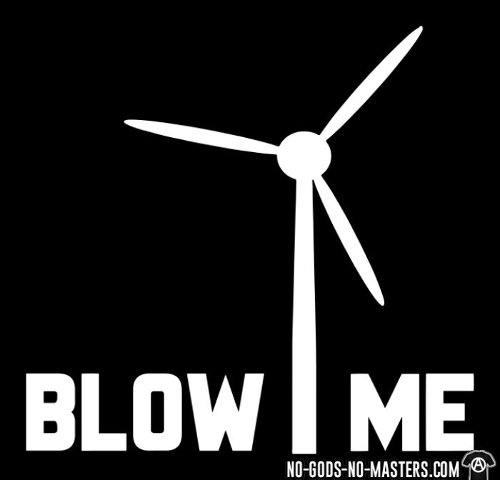 Blow me - Eco-friendly Hooded sweatshirt
