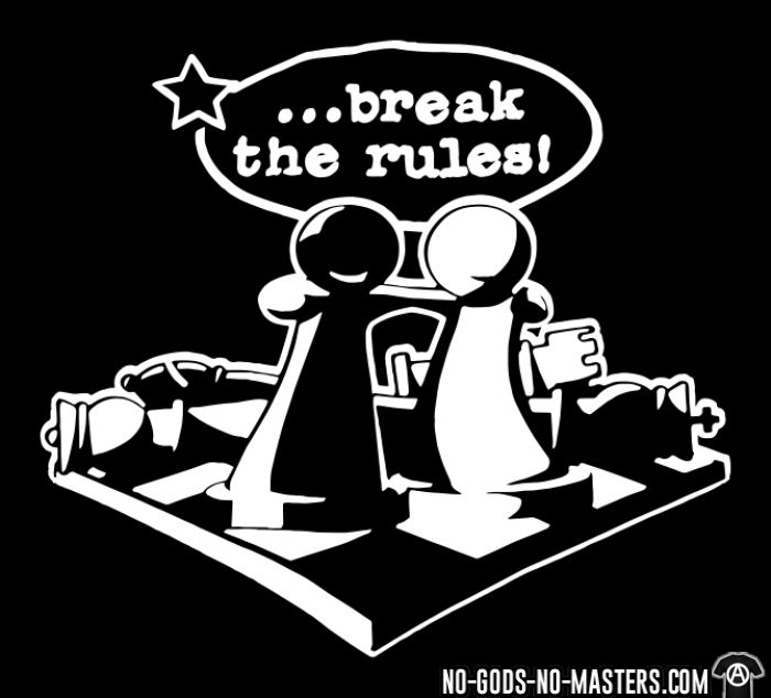 Break the rules ! - Activist T-shirt