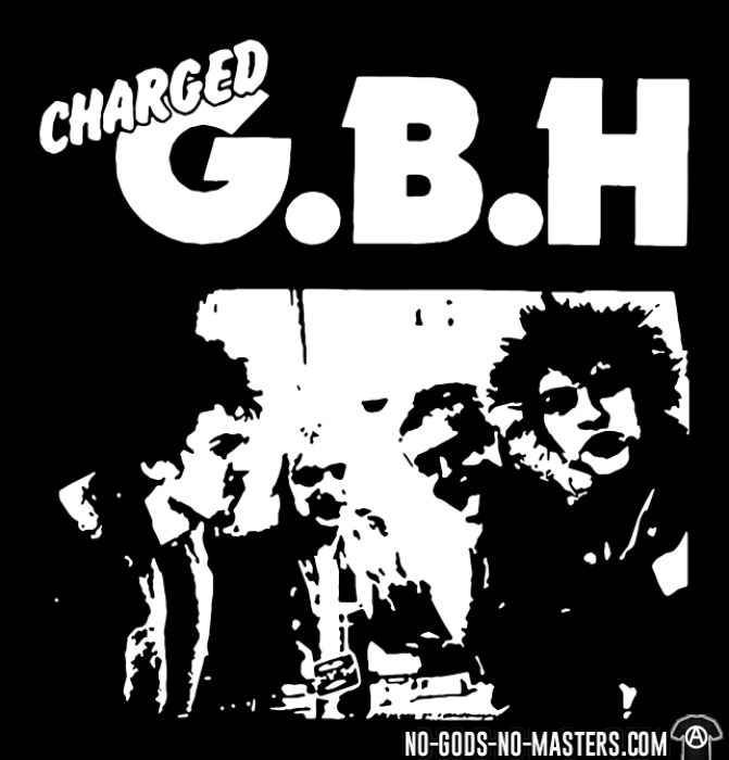Charged GBH - Band Merch T-shirt