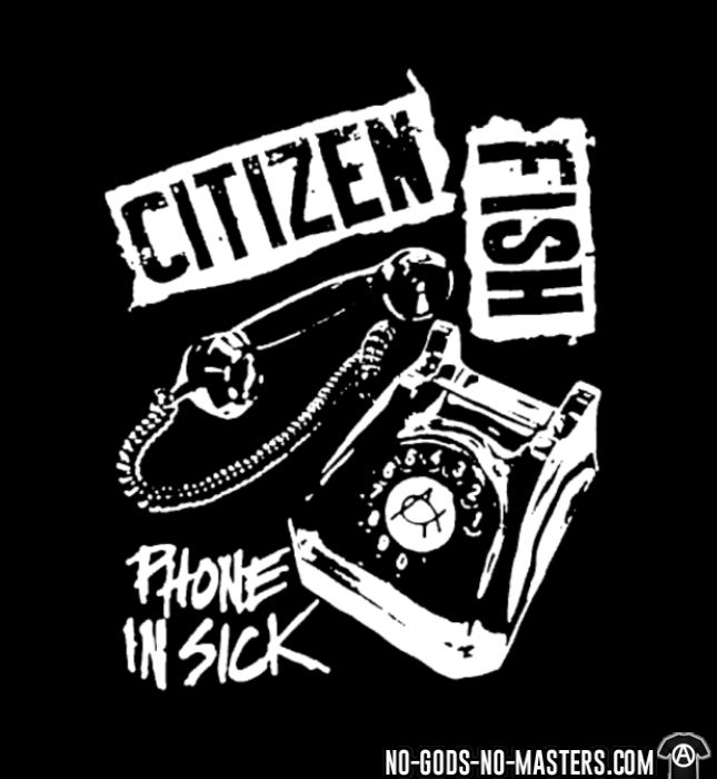 Citizen Fish - Phone in sick - Band Merch Women tank tops