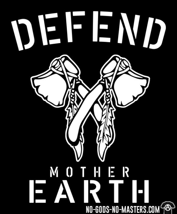 Defend mother earth - Eco-friendly T-shirt