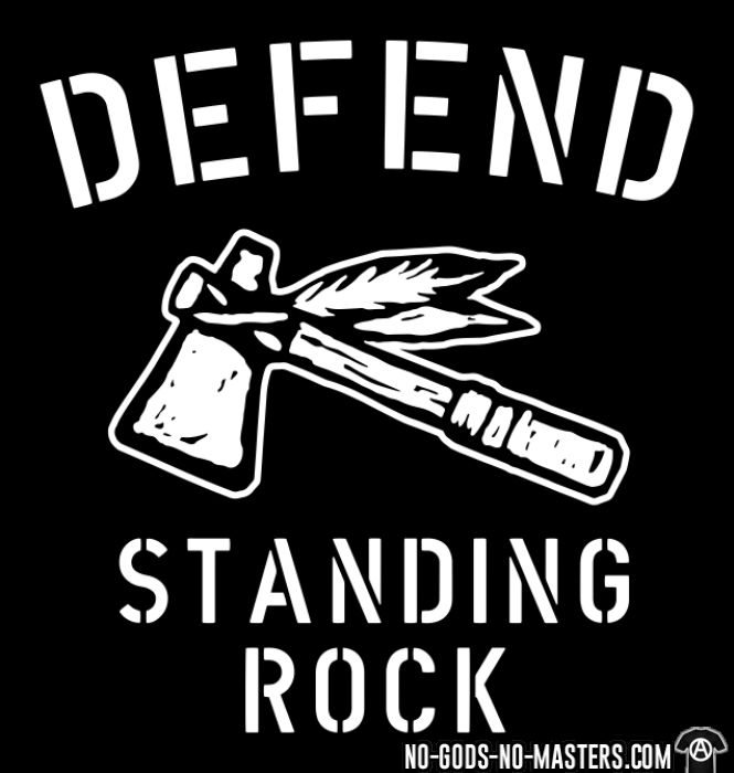 Defend standing rock - Eco-friendly T-shirt
