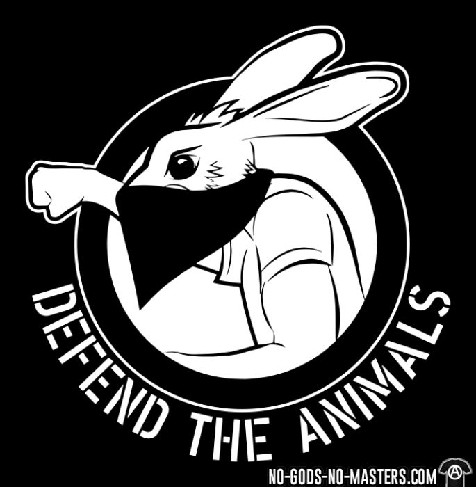 Defend the animals - Animal Liberation T-shirt