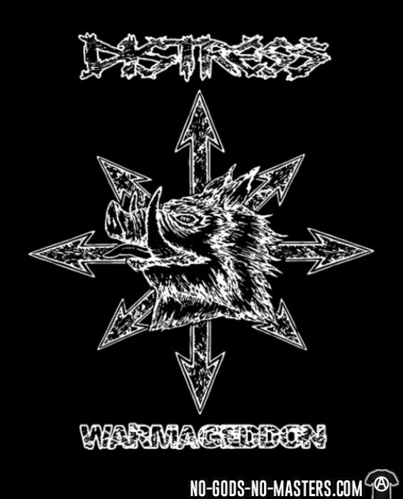 Distress - Warmageddon - Band Merch T-shirt
