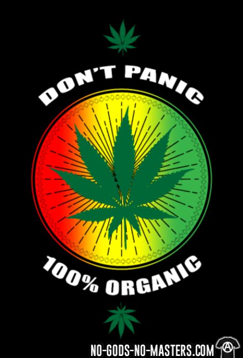 Don't panic 100% organic - Eco-friendly Kids t-shirt