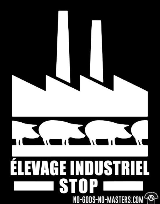 Élevage industriel: Stop - Animal Liberation T-shirt