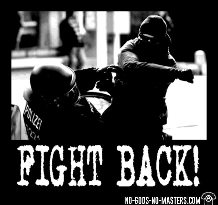 Fight back! - ACAB T-shirt