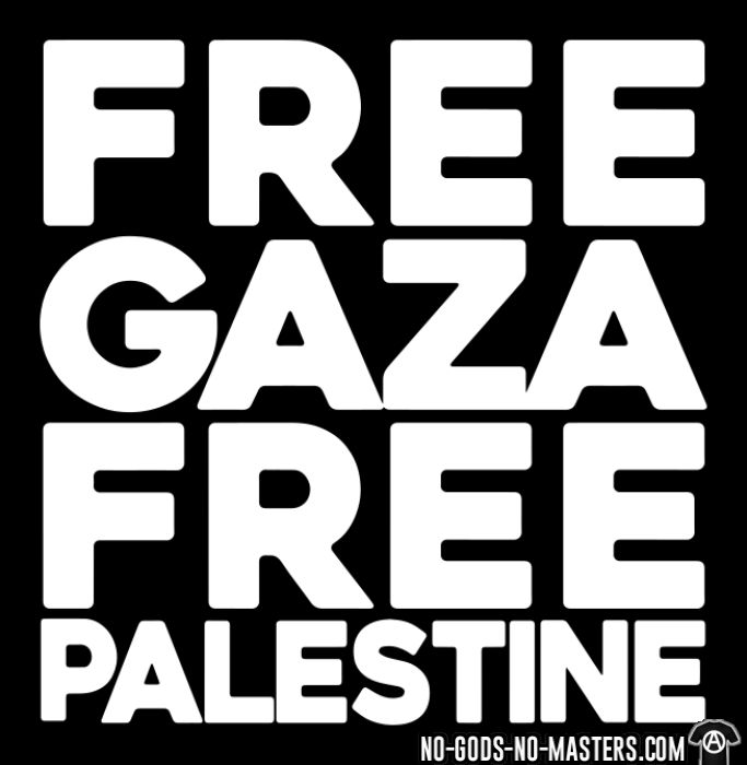 Free Gaza Free Palestine - Anti-war Tank top