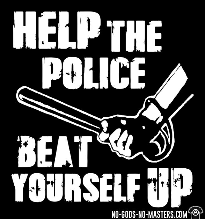 Help the police beat yourself up - ACAB Women Organic
