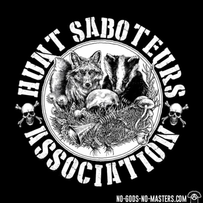 Hunt saboteurs association - Liberacion Animal Camiseta