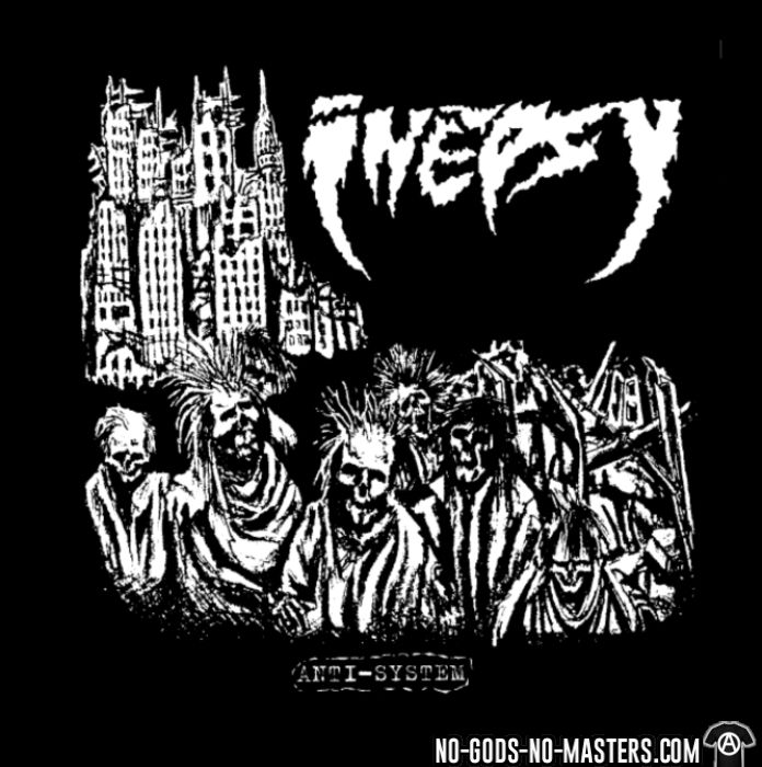 Inepsy - anti-system - Band Merch T-shirt