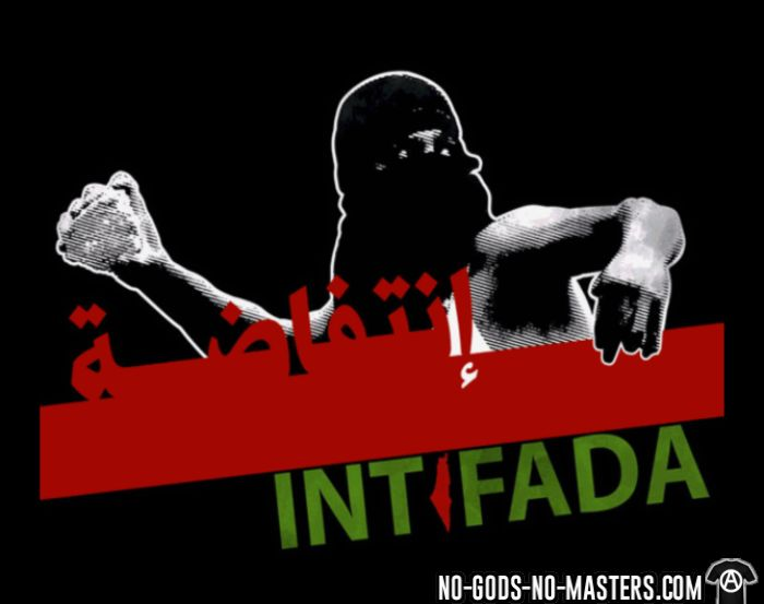 Intifada Palestine - Anti-war Tank top