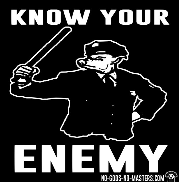 Know your enemy - ACAB T-shirt