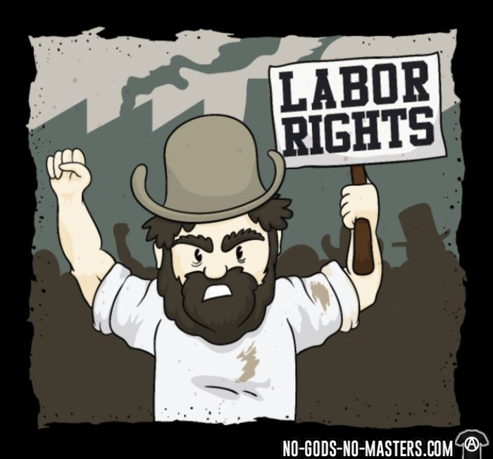 Labor rights - Clase Trabajadora Camiseta
