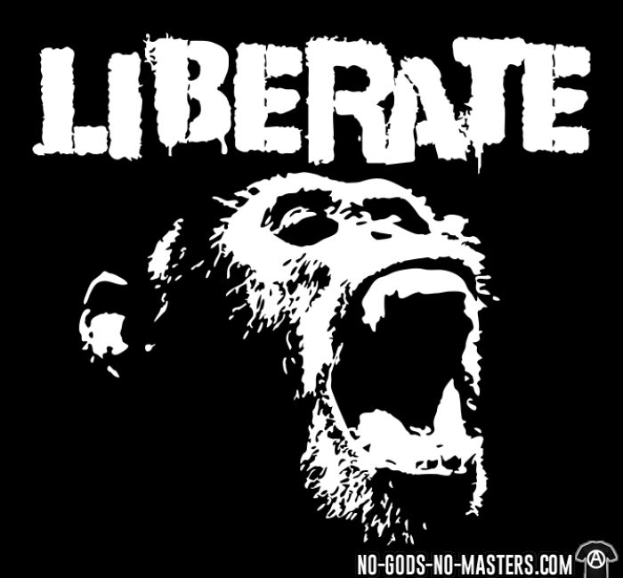 Liberate - Animal Liberation T-shirt