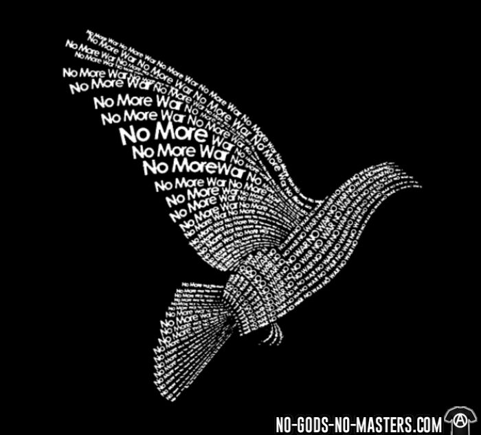 No more war - Anti-war T-shirt