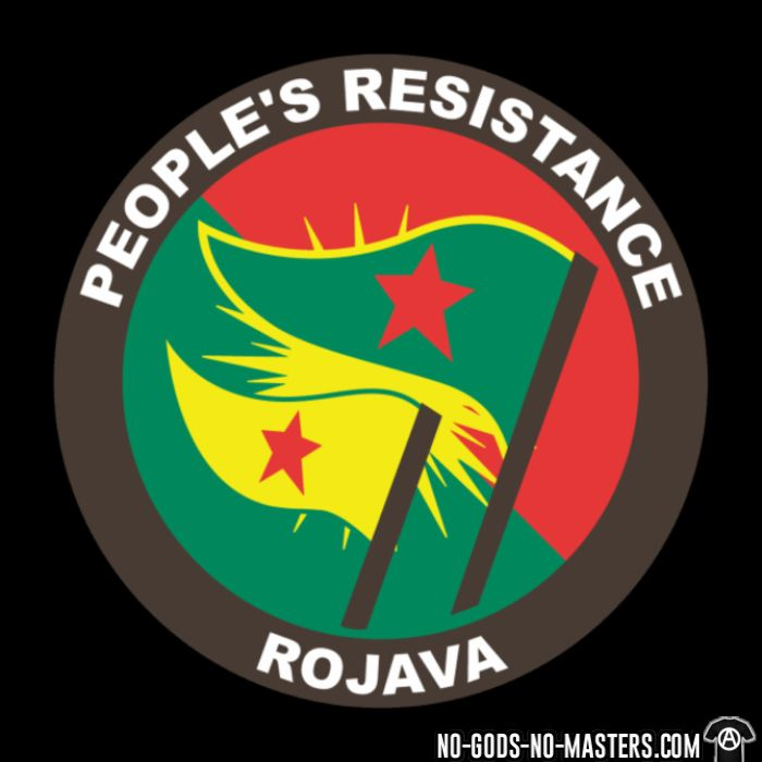 People's resistance. Rojava - Rojava Long sleeves