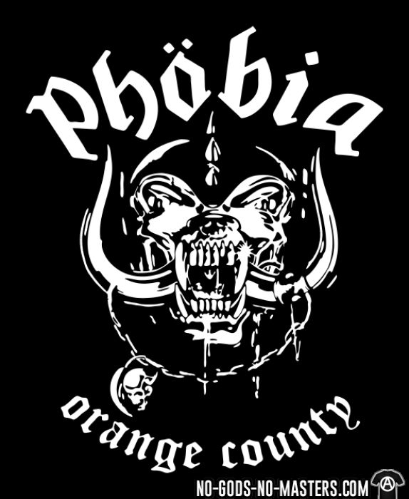 Phobia - Orange county - Band Merch Tank top