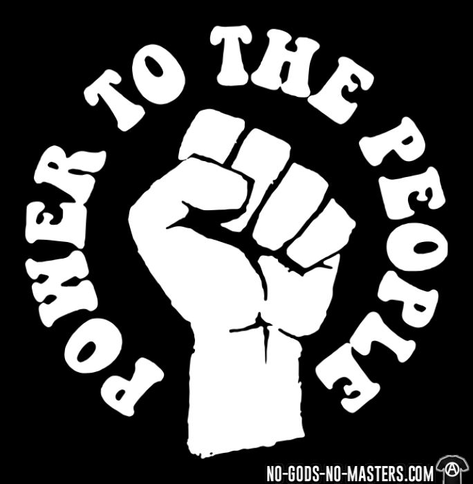 Power to the people - Activist T-shirt
