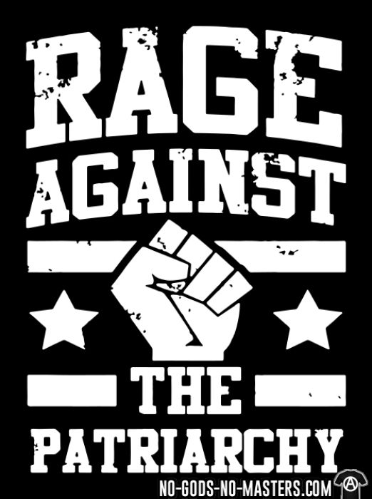 Rage against the patriarchy - Feminist Long sleeves anti-sexist